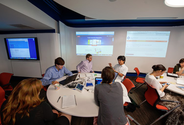 Collaborative Classroom in Van Pelt-Dietrich Library Center