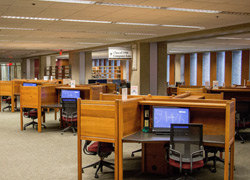 Lippincott Library study area
