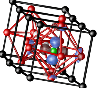 Rappe Group: Lowest unoccupied molecular orbital of nickel-substituted lead titanate solid solution
