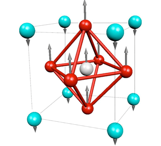 Rappe Group: Titanium encapsulated in an octahedron of oxygen