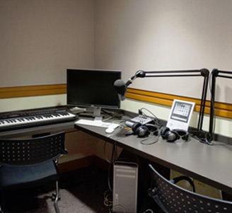 Glossberg Recording Room, Ormandy Music & Media Center