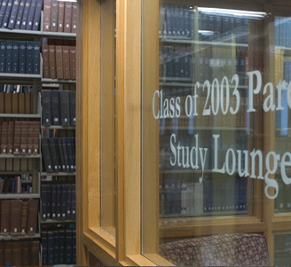 Class of 2003 Parents Study Lounge