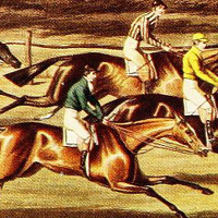 Race for the St Leger Stakes, 1836