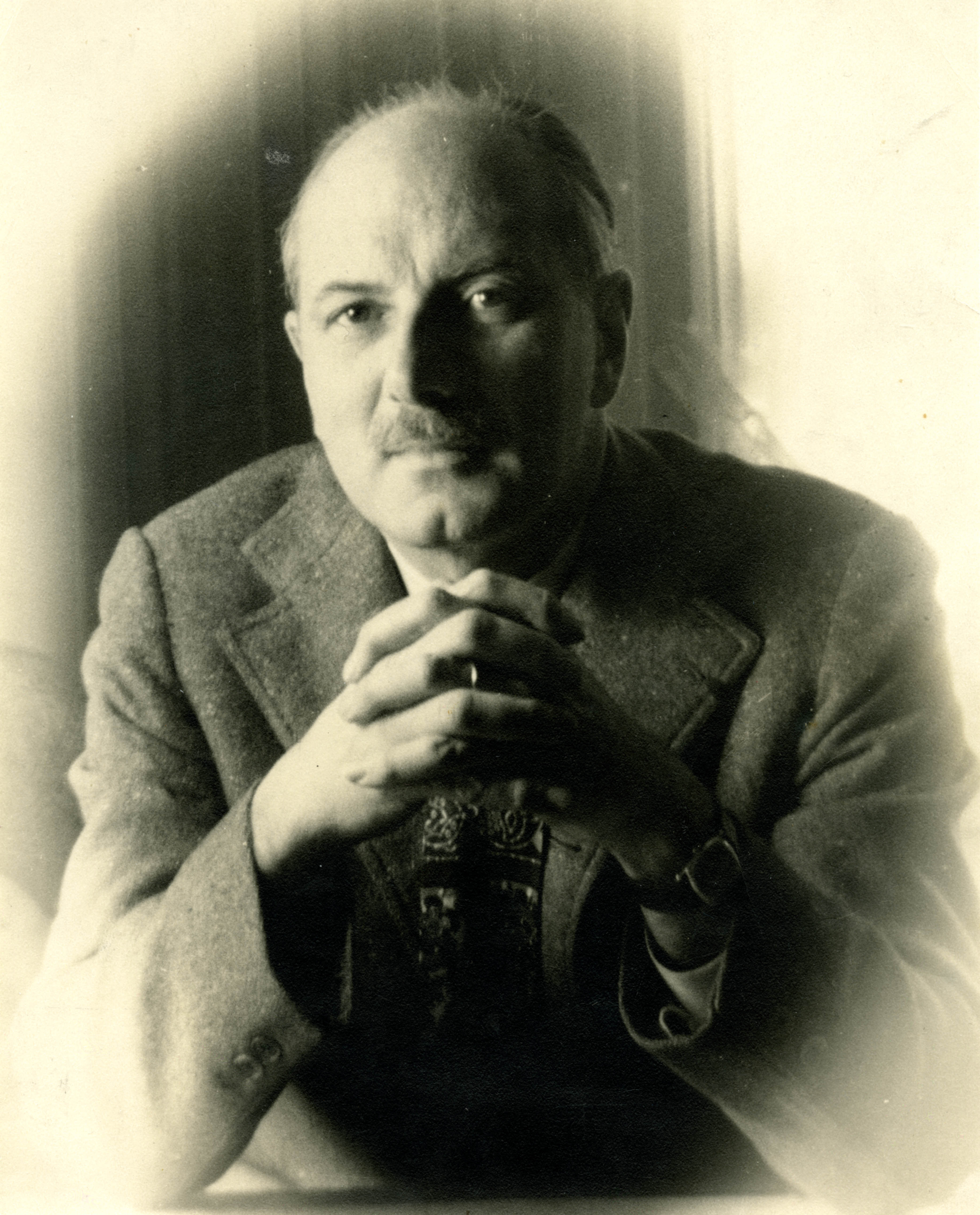 Photograph of Lewis Mumford, 1938 (Ms. Coll. 2)