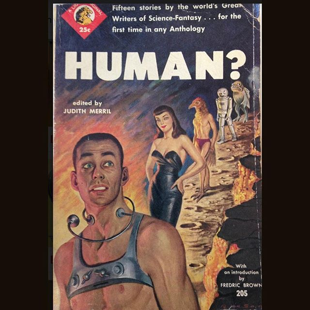 A question I ask myself every morning... From our Mark B Adams Science Fiction Collection