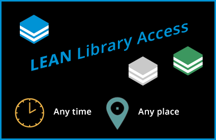 Lean Library Access browser extension provides easy off-campus access.