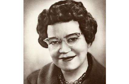 Photograph of Dr. Alexander (1898-1989). Her papers are in the University Archives, ow.ly/COIH50n8wtq