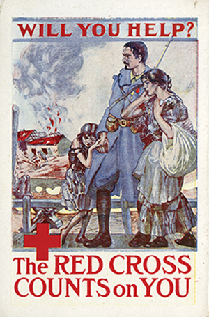 G.R. Macauley, You Buy a Liberty Bond Lest I Perish, poster (ca.1915), World War 1 Print Media and Art Collection
