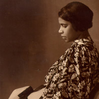 Portrait photo of Marian Anderson