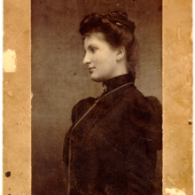 Alma Mahler, ca. 1899: Mahler-Werfel Papers, Box 102, item 25