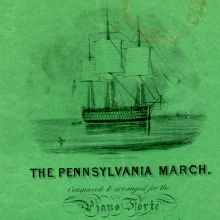 The Pennsylvania March (Philadelphia 1835), Keffer Collection Box 13, no. 35