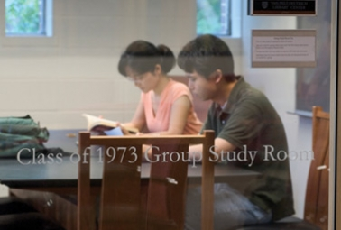 Class of 1973 Group Study Room