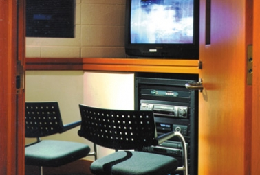 Small Group Film Viewing Rooms
