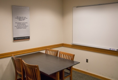 A. Edward Allinson Group Study Room 250