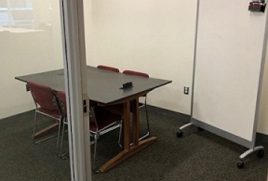 Ground level Group Study Rooms (D, E, F & G)