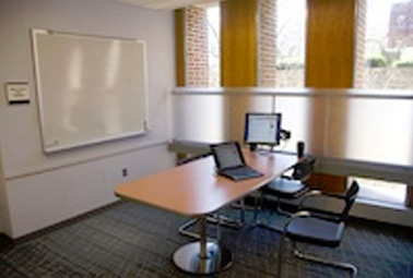 Group study rooms (Weigle Information Commons)