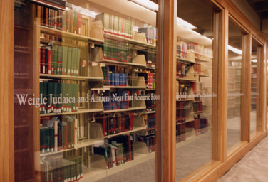 Weigle Judaica/Ancient Near East Studies Resource Room