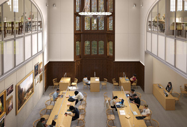 Main Reading Room, Evans Building