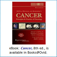 EBook: Cancer, 8th ed., is available in Books@Ovic
