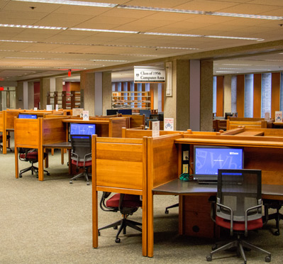 Class of 1956 Computer Area, Lippincott Library