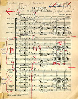 Conducting score - Fantasia