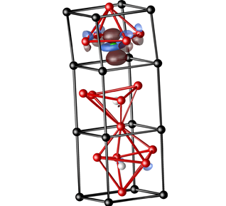 Rappe Group: Highest occupied molecular orbital of nickel-substituted lead titanate solid solution