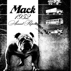 Title page with iconic bulldog