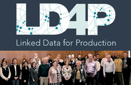 LD4P logo above. Attendees at cohort meeting 10/15/2018 include the Libraries' Beth Camden.