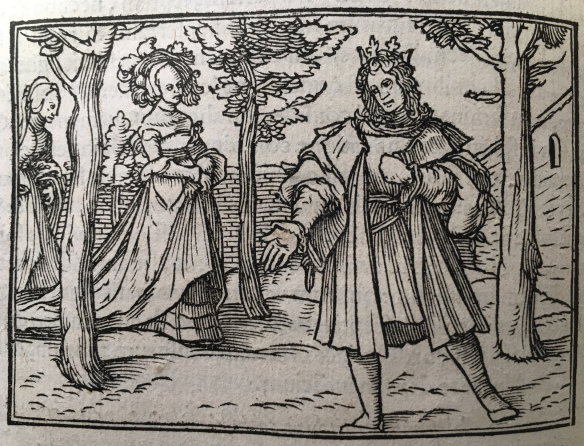 "From our blog: ""You're so vain, you probably think the Song of Songs is about you!"": An Illustrated 16th-Century Bible"