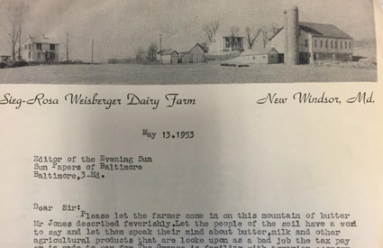 Letter from Siegfried Weisberger, retired owner of Baltimore's famous Peabody Bookshop, to the Baltimore Sun   Papers