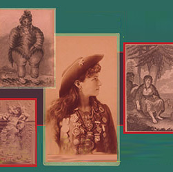 Sepia photos: Annie Oakley, Pioneer mother, Native American woman