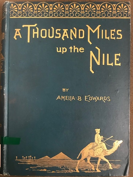 Cover of A Thousand Miles up the Nile
