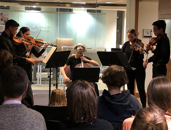 Quintet in the Marian Anderson Study Center