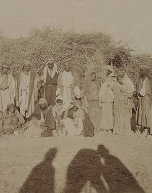L. Fiorillo photographer, Bedouins (n.d.). Lenkin Family Collection of Photography, Penn Libraries