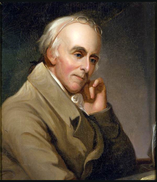 Portrait of aged Benjamin Rush