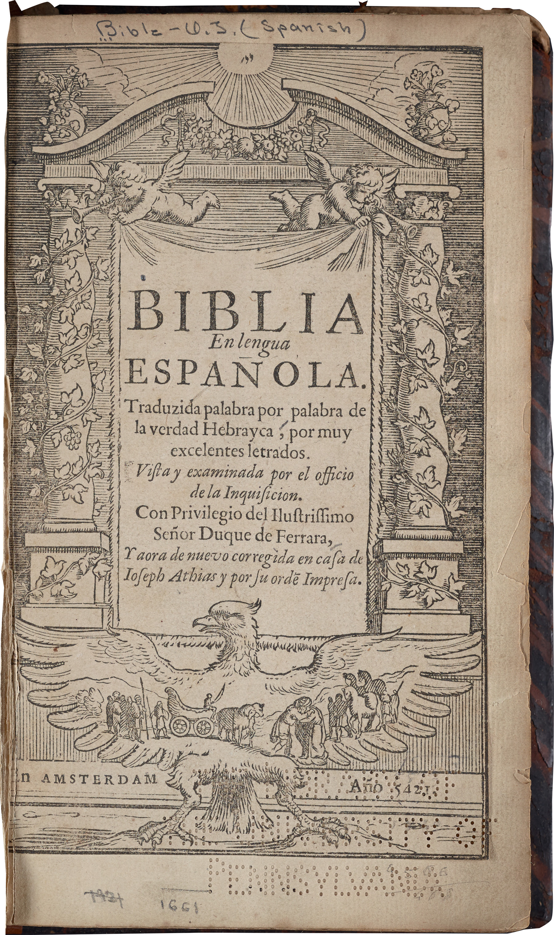 Title page of the 1661 edition
