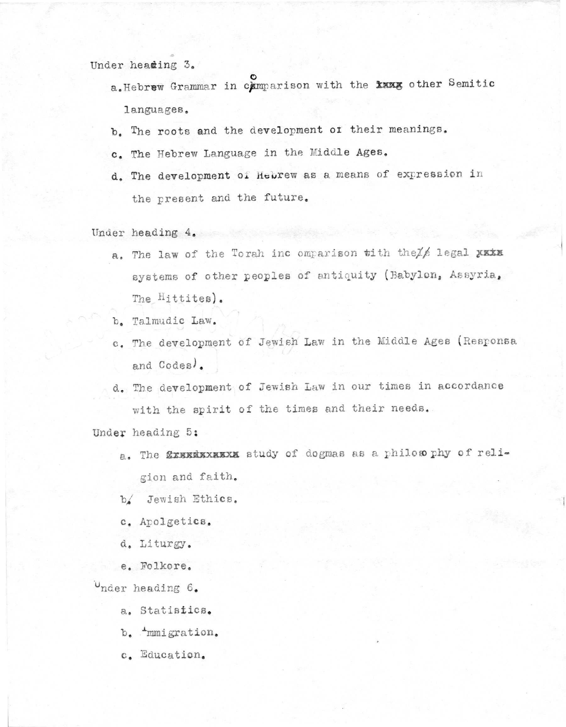 General Programme of the Congress, page 2