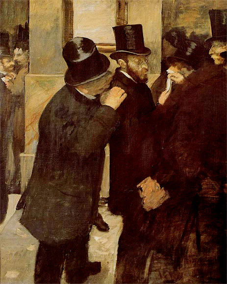 Degas: At the Bourse