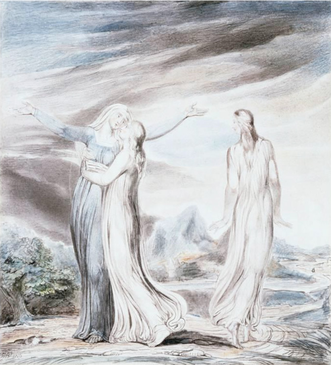 William Blake: Ruth the Dutiful Daughter-in-Law, 1803