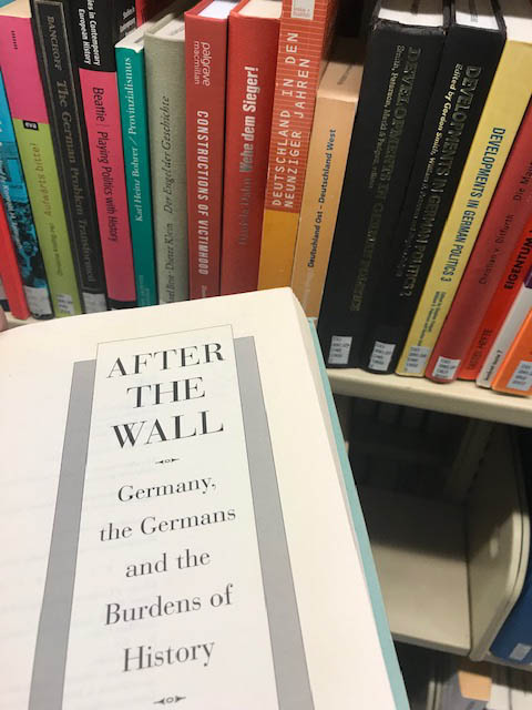 After the Wall: Germany, Germans, and the Burden of History by Marc Fisher