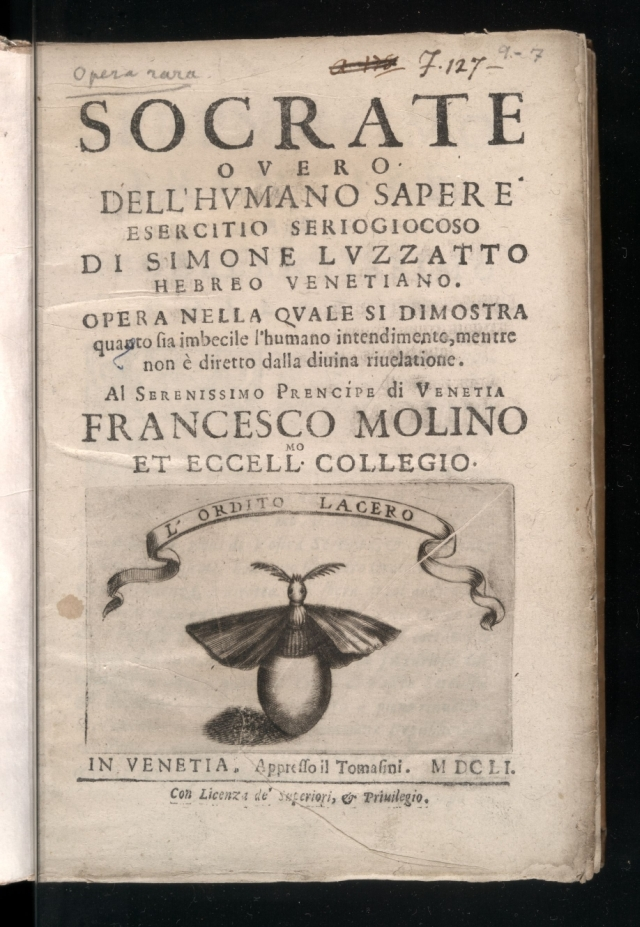 Title page of the 1651 printing