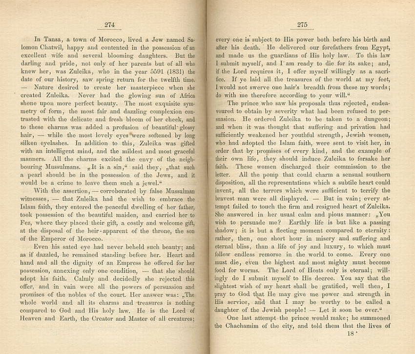 Pages 274 and 275 of the English edition