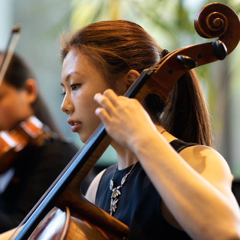 Penn Chamber Music cellist