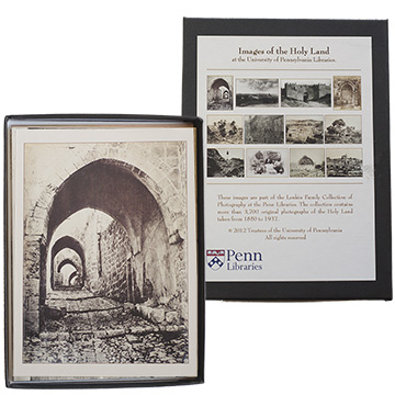 Tancrede Dumas, Arched Street in Jerualem (photograph, 1870), Lenkin Family Collection of Photographs;