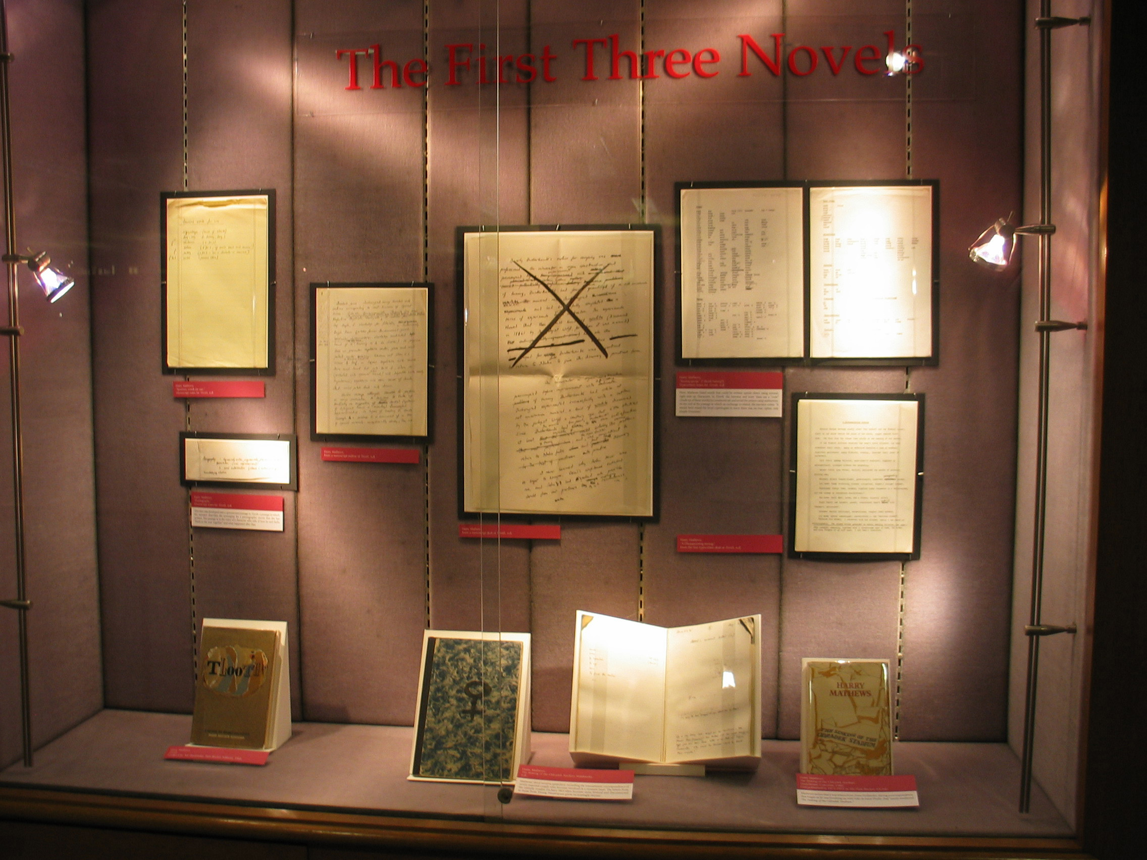 Case 6 - The First Three Novels
