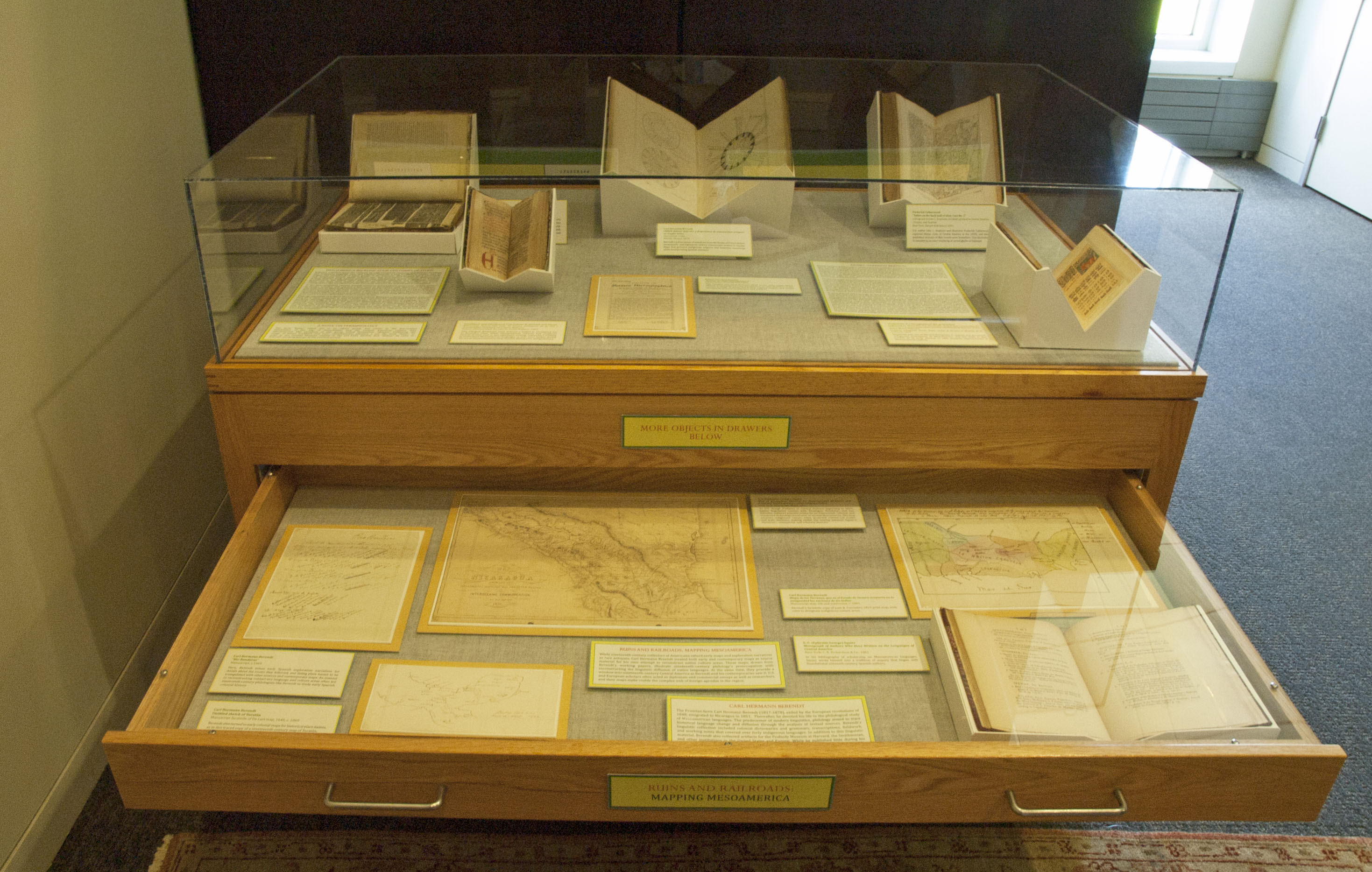 Drawer 1 - Ruins and Railroads: Mapping Mesoamerica