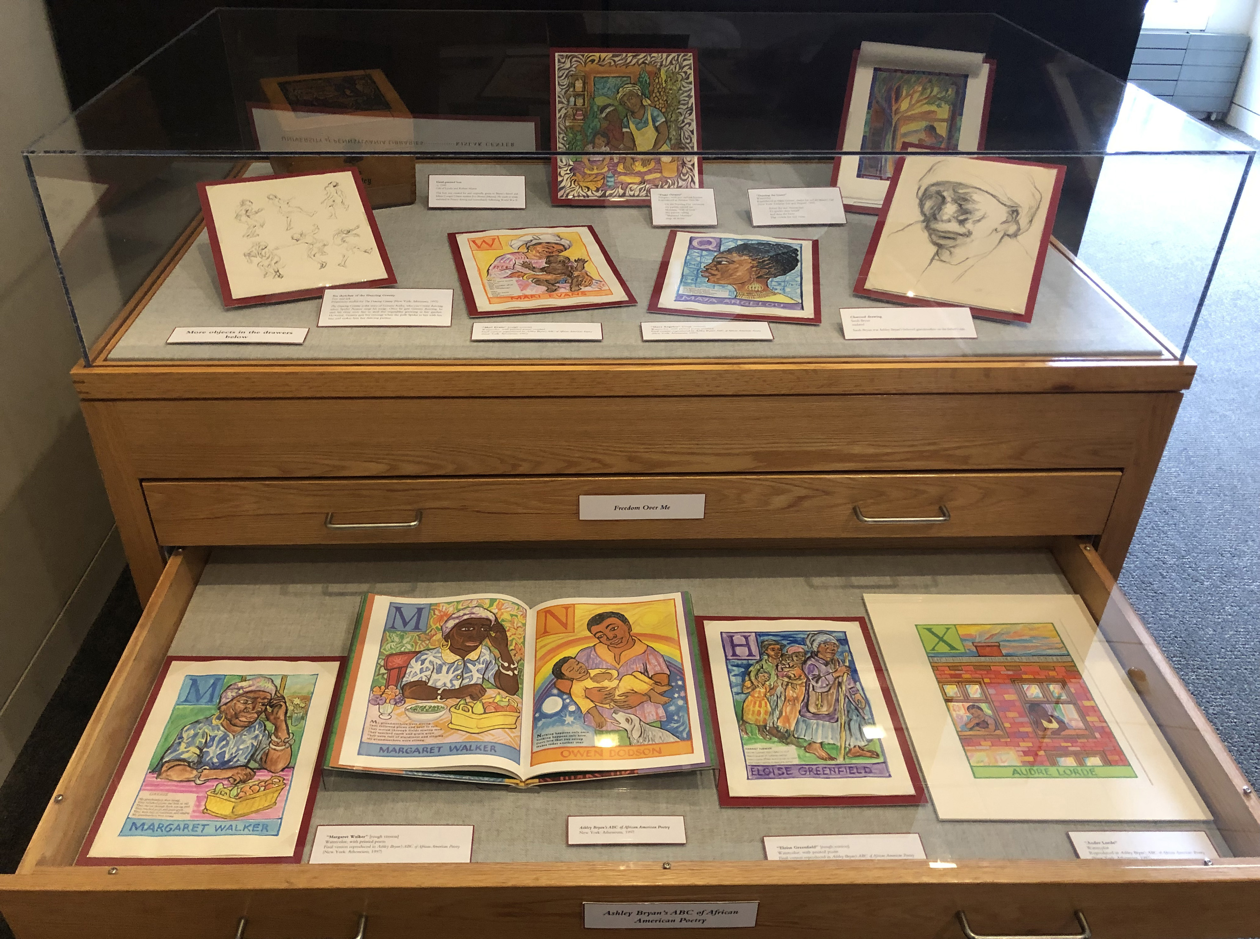 Remarkable Figures, Drawer 2 - Ashley Bryan's ABC's of African American Poetry