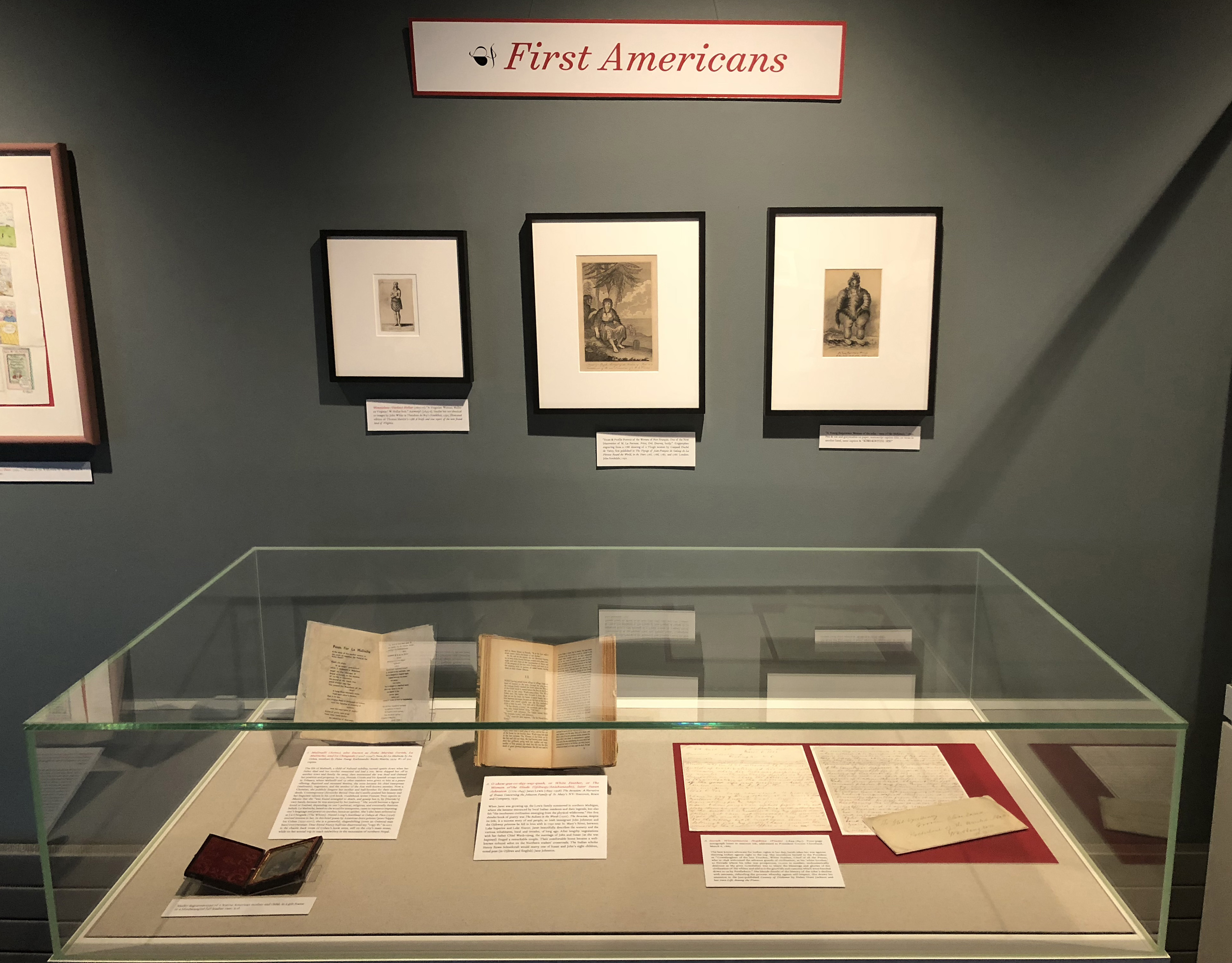 Goldstein Gallery - Case 1 - First Americans