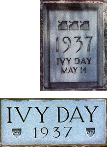 Class of 1937 Ivy Day Plaques