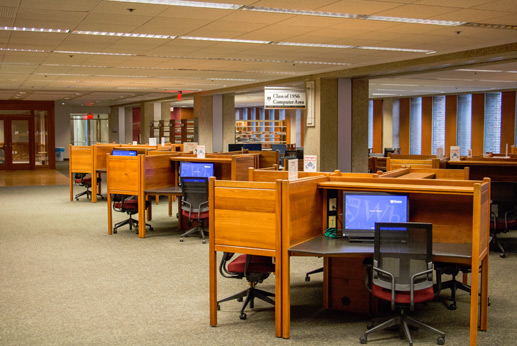 Photo of Class of 1956 Computer Reference Center